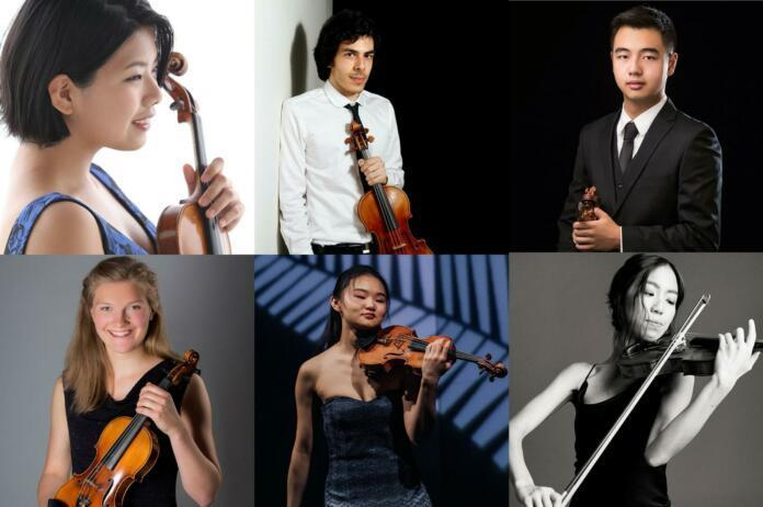 Finalists announced at Shanghai Isaac Stern International Violin Competition