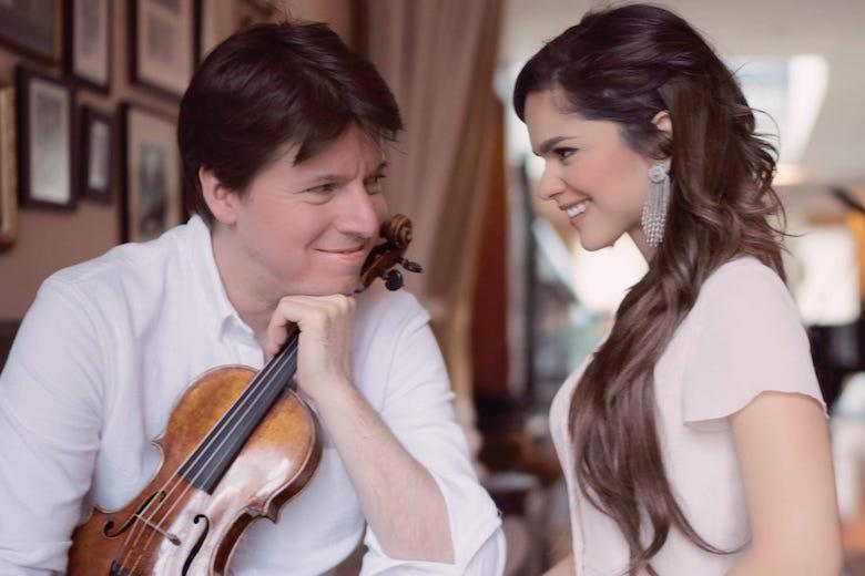 Joshua Bell gets married