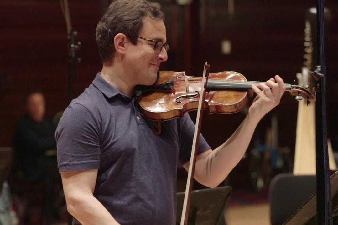 Jack Liebeck plays Stuart Hancock concerto cadenza
