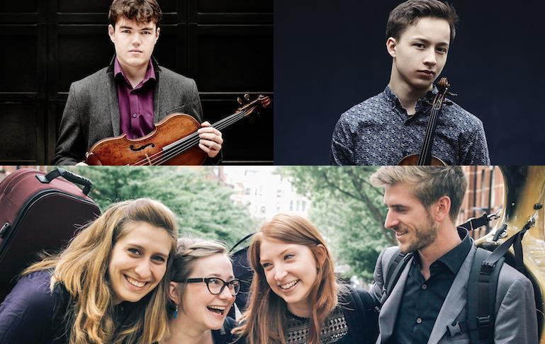 Violinist, violist and string quartet selected as New Generation Artist