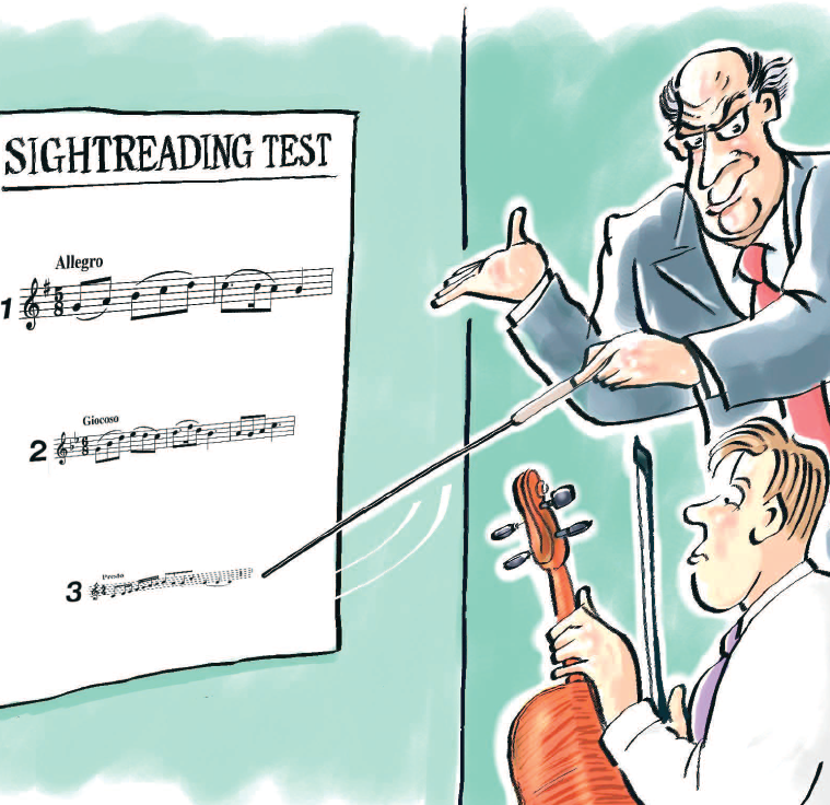 How to help music students with sightreading