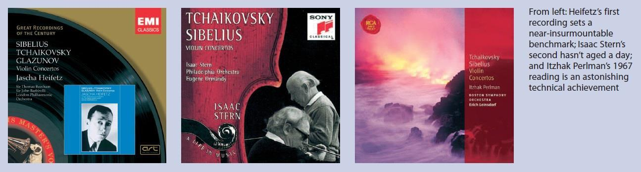 Fire And Ice The Best Recordings Of The Sibelius Violin Concerto