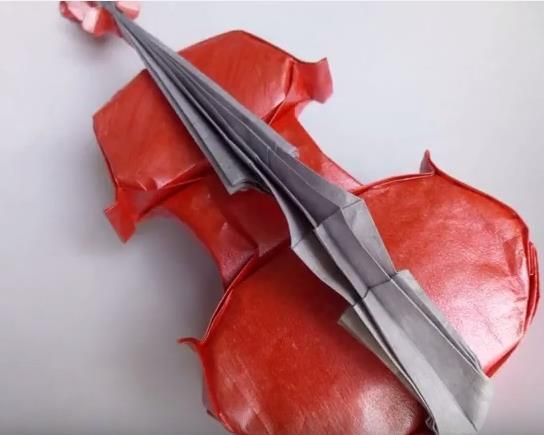 How To Make An Origami Violin