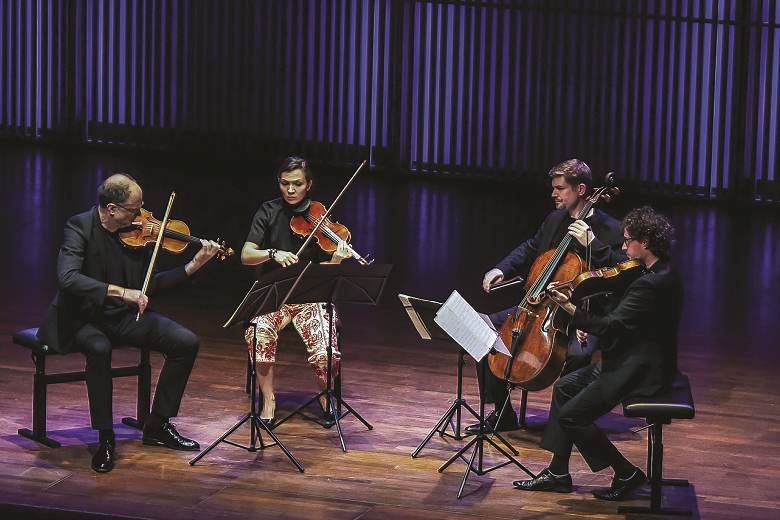 Postcard From The String Quartet Biennale Amsterdam Focus The