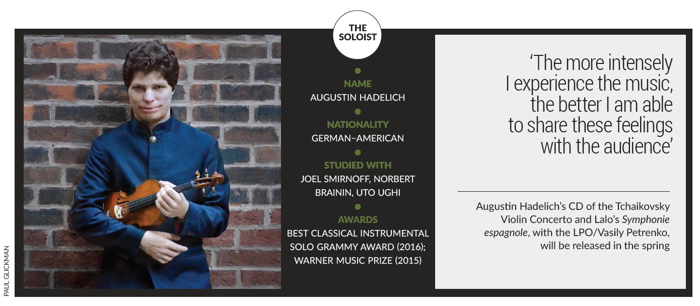 Masterclass: Augustin Hadelich on Tchaikovsky's Violin Concerto