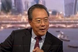Yo-Yo Ma appears on The Andrew Marr Show