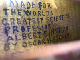 Einstein dedication