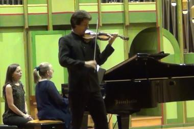 Enescu Competition Round 1