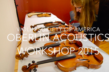 Oberlin Acoustics Workshop