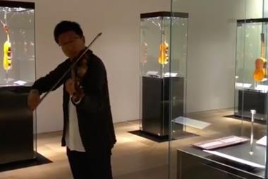 Dan Zhu Da Vinci Stradivarius