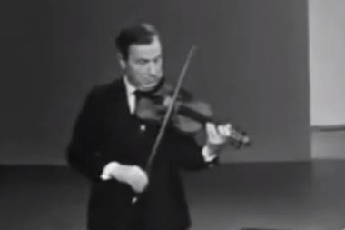 Milstein Chaconne