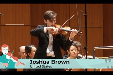 Joshua Brown - leopold mozart competition