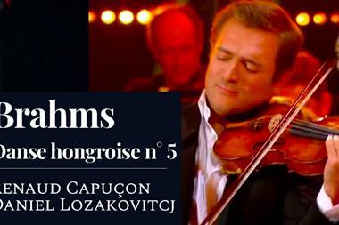 Renaud Capucon Brahms