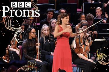 Nicola Benedetti at the Proms