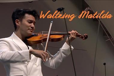 Ray Chen Waltzing Matilda