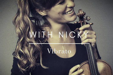 With Nicky Vibrato
