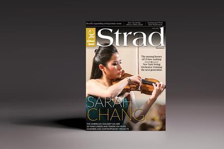The Strad November 2019 cover
