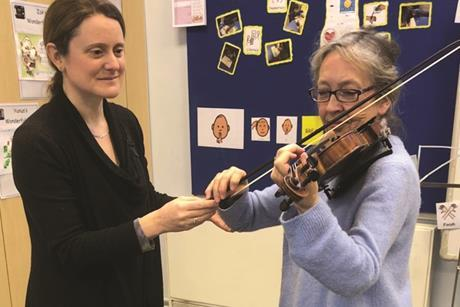 Strad teaching adults