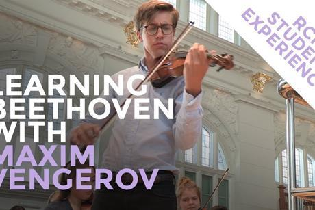 Maxim Vengerov Beethoven 2