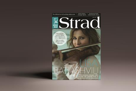 The Strad November 2019 cover
