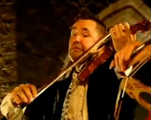 Violinist Nigel Kennedy performs Bach's Two-Part Inventions