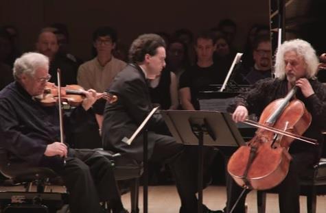 Itzhak Perlman, Mischa Maisky and Evgeny Kissin perform