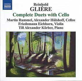 Glière: Complete Duets with Cello: Eight Duets for violin