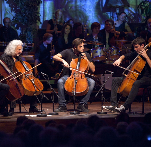 Double Acts: Cellists Luka Š ulić and Stjepan Hauser of 2Cellos