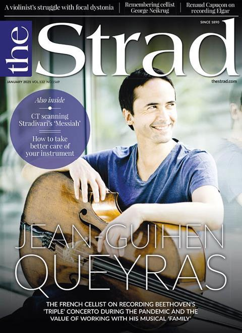 Jean-Guihen Queyras: The French cellist on recording Beethoven's 'Triple' Concerto during the pandemic and the value of working with his musical 'family' | January 2021 issue | The Strad