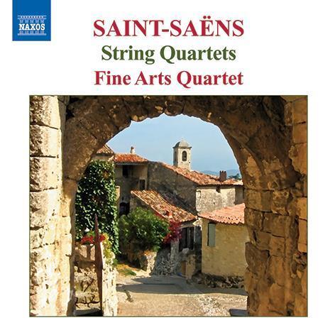 Saint-Saens-string-quartets