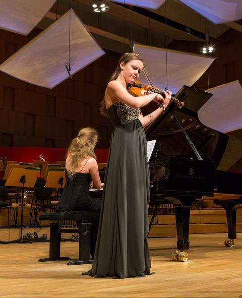 Alexandra Conunova-Dumortier Gala ConcertMarek kruszewski