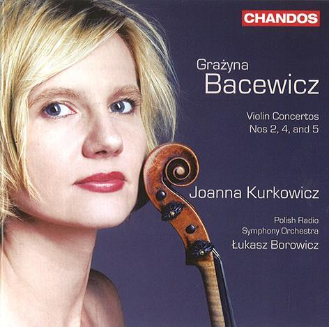 GrazynaBacewicz_ViolinConcertos