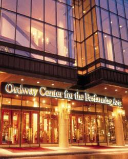 Ordway Center Entrance