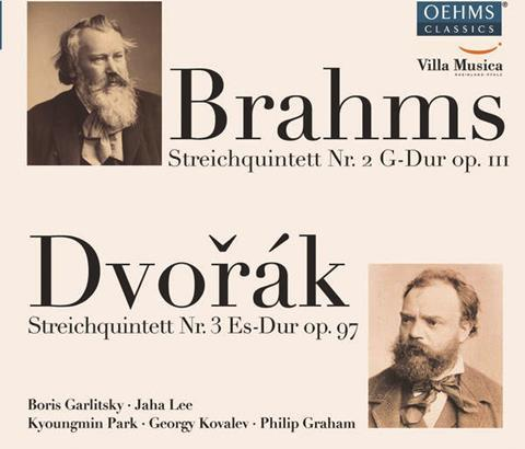 Brahms-Dvorak-Garlitsky