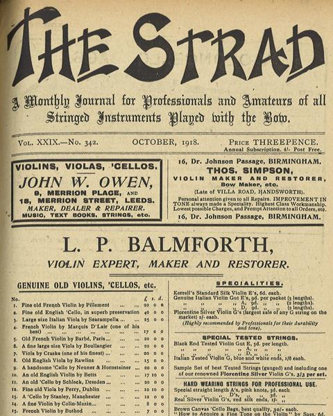 October 1918 cover