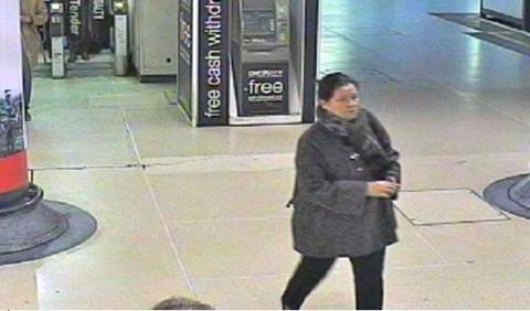 Violin theft CCTV