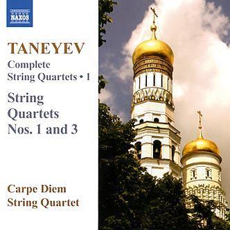Taneyev-String-quartets