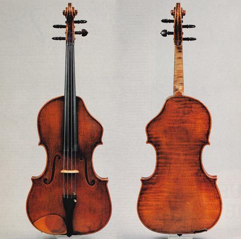 Otto Erdesz viola