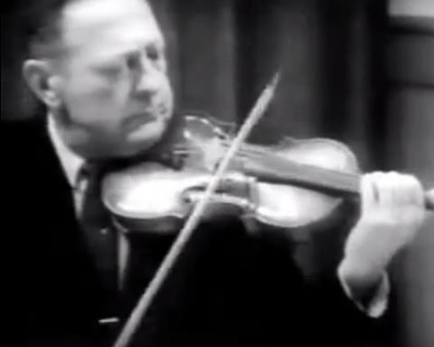 Heifetz Violin
