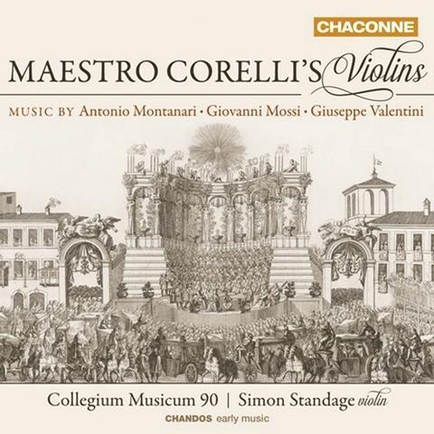 Maestro corellis violins