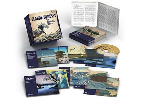 0190295736750 debussy the complete works 33 cd 3 d (white)