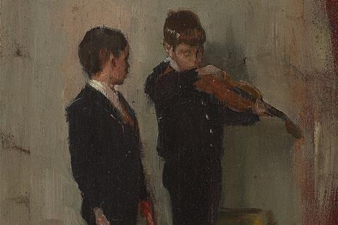 Tom roberts violin lesson