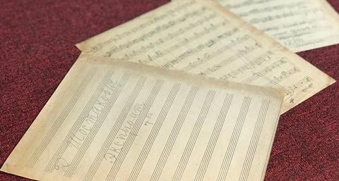 Shostakovich impromptu