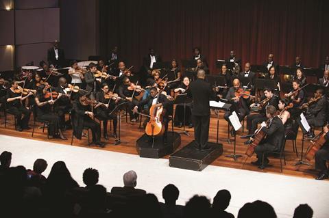 Sphinx symphony orchestra cr glenn triest
