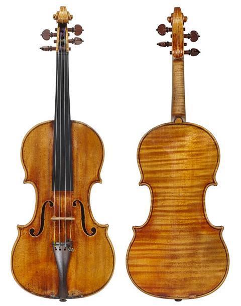 Sancy Stradivari 1713
