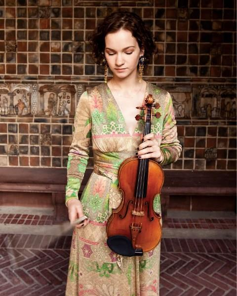 Violinist Hilary Hahn announces pregnancy, but will ... Hilary Hahn Instagram