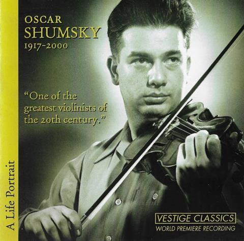 Oscar Shumsky CD
