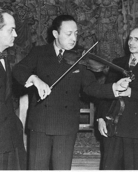 Heifetz with Yurkevich and Rosenthal