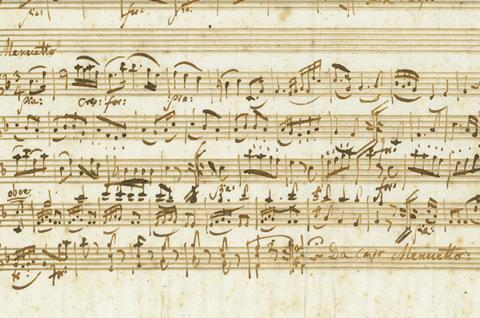 Important Mozart discovery to be auctioned in Berlin on 16 April | News |  The Strad