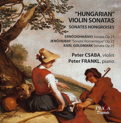 Hungarian-violin-sonatas